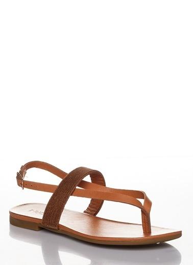 Efem Sandalet Taba